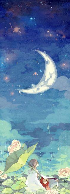 Moon Gazing...& wishing upon a star...