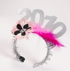 DIY New Years Eve Hats. Don't need to look exactly like this but this would be a GREAT activity for the kids on New Year's Eve.