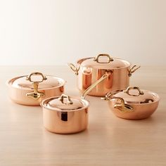Shop Williams Sonoma's full selection of Mauviel copper cookware, including Mauviel copper pots and Mauviel copper pans.