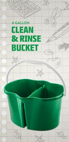 Rinse and Clean Bucket