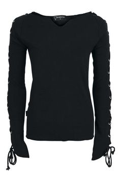 Lace Up Longsleeve by Spiral