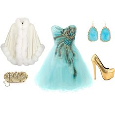 """the snow princess."" by strangenessandcharms on Polyvore"