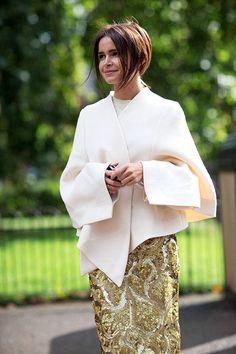 15 Ladies Who Convince That Winter White is the Way - HarpersBAZAAR.com