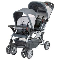 Baby tandem strollers - Pin it :-) Follow us .. CLICK IMAGE TWICE for our BEST PRICING ... SEE A LARGER SELECTION of   baby tandem strollers  at   http://zbabybaby.com/category/baby-categories/baby-strollers/baby-tandem-strollers/   - gift ideas, baby , baby shower gift ideas, kids  -  Baby Trend Sit N Stand Double Stroller – Fusion « zBabyBaby.com