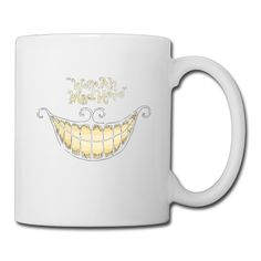 White Alice In Wonderland The Cheshire Cat Ceramic Cup Unisex Printed On Both Sides ** Quickly view this special cat product, click the image : Cat mug