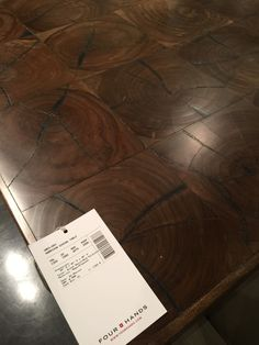 Wood table - rustic excellence - Four Hands