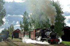 Loviisa Wesijärvi Rautatie (Finland) No. 6 (Tampella 141/1909) Minkiö Station 19 Aug 2007