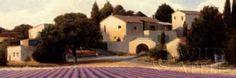 lavender Fields Panel I Crop