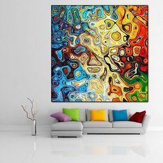 LEINWAND BILD ER XXL POP ART ABSTRAKT MODERNE KUNST GRAFFITI DEKO BUNT 130x130   eBay Pop Art, Curtains, Bunt, Artist, Artwork, Prints, Painting, Ebay, Art On Canvas