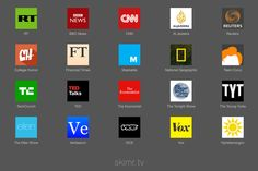 Skimr.tv  The fastest and easiest way to watch news on youtube. Follow @producthuntlive