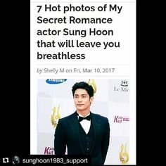 @sunghoon1983_support [ Dramafever article ] 7 Hot photos of My Secret Romance actor Sung Hoon that will leave you breathless  Thank you @dramafever for cheering #SUNGHOON @sunghoon1983 @stallion__entertainment #dramafever . by Shelly M on Fri, Mar 10, 2017 . https://www.dramafever.com/news/-hot-photos-of-my-secret-romance-actor-sung-hoon-that-will-leave-you-breathless/ . #성훈 #배우성훈 ‬ #ソンフン #방성훈 #成勋 #成勛 #sunghoon1983  #sunghoon1983_support #스탤리온엔터테인먼트 #StallionEntertainment #StallionC