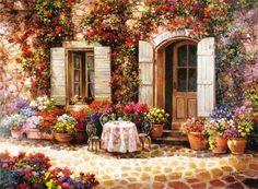 painting by Paul Guy Gantner