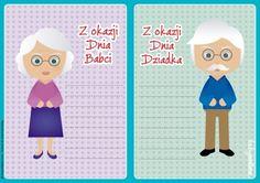 Dzień Babci i Dziadka: kartki-laurki do druku