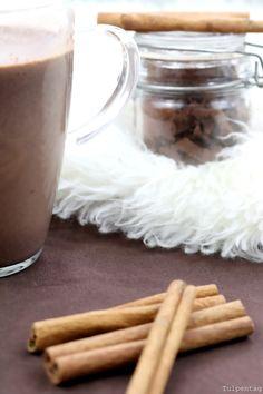 Heiße Schokolade Zimt Zimtschokolade Getränk Herbst Winter