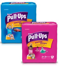 Check out this $3.50 off Coupon for PULL-UPS!