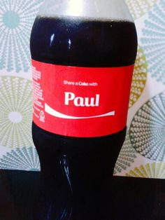 Share a coke with Paul...