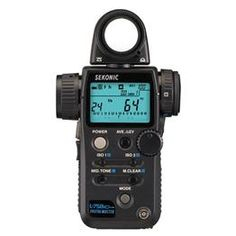 Sekonic Light Meter: L-758Cine DigitalMaster Exposure Meter - Specifications