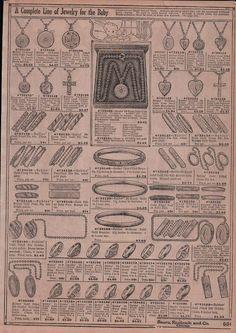 1920's baby jewelry ad.
