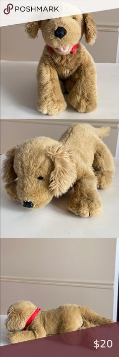 build a bear unstuffed light brown curly bear and heart 16/'/'