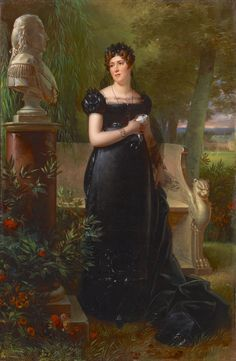 Portrait of Madame Bessières (c.1781-1840), née Marie-Jeanne Lapeyrière, wife of Marshal Jean-Baptiste  Bessières, first duke of Istria | Robert Lefèvre (c.1814)