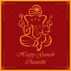 Greetings on Ganesh Chaturthi. May Lord Ganesha bless us with abundant happiness & prosperity. Ganesh Chaturthi Images, Happy Ganesh Chaturthi, Ganpati Invitation Card, Shivaji Maharaj Hd Wallpaper, Diwali Party, Pooja Room Design, Shree Ganesh, Festivals Of India, Ganpati Bappa
