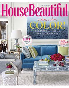 September 2012 Cover. Housebeautiful.com. #house_beautiful #september_2012  #magazine_cover