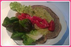 No gluten! Yes vegan!: Piadina di grano saraceno con salsa di zucchine al...