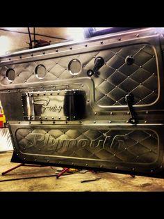 37 Ideas Custom Cars Interior Sheet Metal For 2019 Custom Car Interior, Truck Interior, Bomber Seats, Sheet Metal Art, Custom Metal Fabrication, Metal Shaping, Car Upholstery, Metal Working Tools, Custom Cars