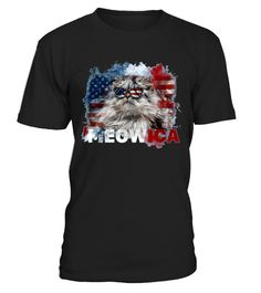 # Meowica shirt .   Celebrate Independence Day with this perfect patriotic funny cat lover t-shirt. Show your patriotic pride this Fourth of July with Meowica Freedom T-Shirt. Enjoy your barbecue, sparklers, fireworks, block parties, parades, and social gatherings in style. Hilarious graphic of a cat waving stars and stripes of the American flag on a bald eagle will get laughs. Knock back your hotdogs in American pride. Makes the perfect gift for husbands, wives and kids, any cat lover that…