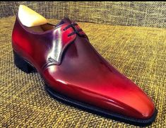New Handmade Men Red Black Tone Formal Dressing Handmade Lace Up Shoes<br /><br /> Material:<br /> Handmade Leather Shoes, Suede Leather Shoes, Soft Leather, High Ankle Boots, Shoe Boots, Lace Up Shoes, Me Too Shoes, Fancy Shoes, Derby Shoes