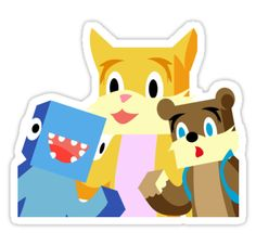Minecraft Youtuber Stampy Cat, iBallisticsquid, L for Lee x