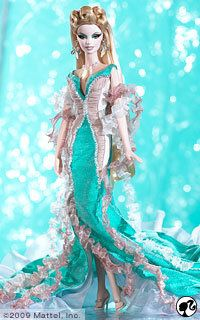 Turquoise | Aphrodite 2009 Barbie Doll