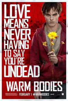 This poster of #NicholasHoult from #WarmBodies might just make a great Valentine's Day card.