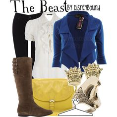 """The Beast"" by lalakay on Polyvore  DisneyBound"