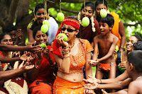 Nenem Chinna Pillana Movie New Photos Gallery, Rahul Ravindran, Tanvi Vyas playing central roles in Nenem Chinna Pillana telugu film stills,Tanvi Vyas hot stills in half saree from Nenem Chinna Pillana