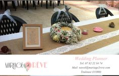 Wedding Planner, Table Decorations, Furniture, Home Decor, Weddings, Wedding Planer, Decoration Home, Room Decor, Home Furnishings