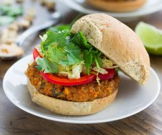 Fact: Vegetarian food can be every bit as protein-packed as its meatier kin.Spicy Thai peanut veggie burgers