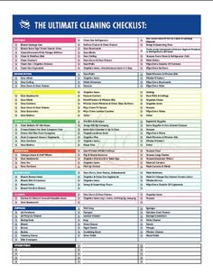 Free Cleaning Checklist Printable - Free deep cleaning checklist to print to help you deep clean your home (perfect for Spring Cleaning too! Cleaning Checklist Printable, House Cleaning Checklist, Weekly Cleaning, Deep Cleaning Tips, Cleaning Hacks, Cleaning Schedules, Checklist Template, Cleaning Contracts, Cleaning Services