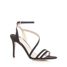 Faith Black 'Lucas' high sandals | Debenhams
