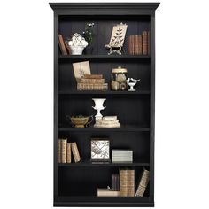 Ballard Designs Tuscan Large Center Bookcase ($999) ❤ liked on Polyvore featuring home, furniture, storage & shelves, bookcases, bookshelves, bookcase, books, fillers, tuscano furniture and book-shelves