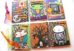 .: Halloween Pocket Letter Ft. MMedelillustrations + Giveaway! | Halloween Craft Series 2015 Project #5