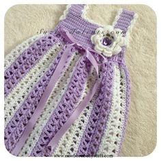 Crochet Baby Dress Crochet Baby Spring ... by SuziesTalents | Crocheting Patter.... Crochet Baby Dress