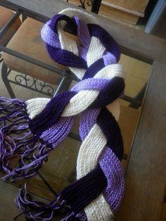 braid scarf