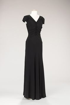 Evening dress  Elsa Schiaparelli    Date: winter 1938–39   Culture: French