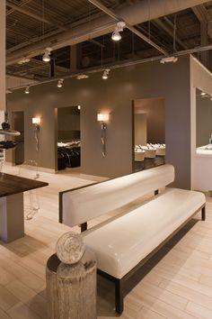 Interior U0026 Lighting Design: Tricho Salon U0026 Spa By Leslie McGwire™ ASID  Allied American Society Of Interior Designers, Via Behance