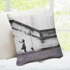 ileesh u0027there is always hopeu0027 london banksy throw pillow 27 liked