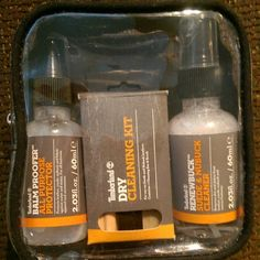 Timberland Dry Cleaning Kit Timberland Travel Kit Plus - Balm Proofer, Renewbuck & Dry Cleaning Kit (the balm proofer was already sprayed on the tim's that are up for sell) Timberland Accessories