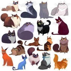 Life is good happy cat illustration by anna palamar - artofi Art Et Illustration, Character Illustration, Cat Illustrations, Cute Animal Illustration, Illustration Fashion, Animal Sketches, Animal Drawings, Drawings Of Cats, Cat Design