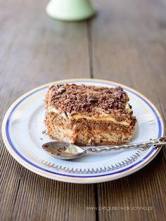ciasto rocher Tiramisu, Banana Bread, Cheesecake, Food And Drink, Baking, Ethnic Recipes, Cakes, Diy, Kitchens