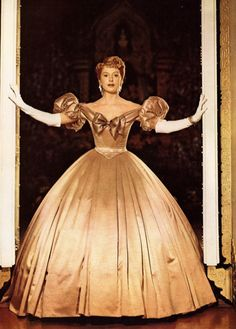Deborah Kerr, 'The King and I' (1956).? One of my favorite movie costumes of all time.